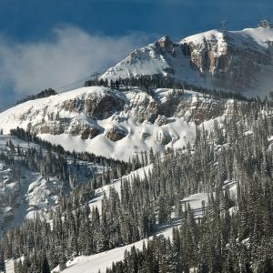 Jackson hole mountain grand tetons
