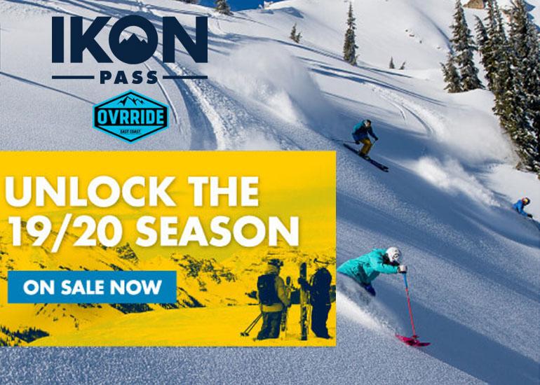 Ikon Pass Details